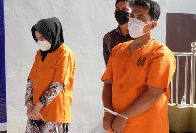 Polda Riau Ungkap Tindak Pidana Perbankan, 2 Tersangka Pencurian 1,3 M Uang Nasabah Diamankan