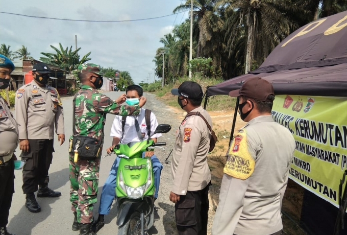 Bersinergi TNI Polri Tetap Laksanakan Patroli Yustisi Gabungan Diwilayah