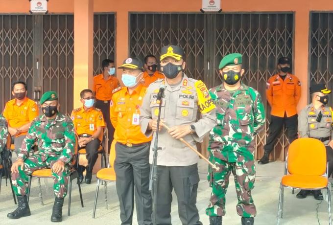 Kapolres Kampar Pimpin Apel Hari Kesiapsiagaan Bencana Nasional Tahun 2021 di Kabupaten Kampar