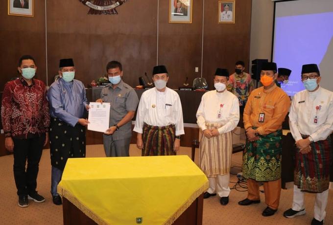 Penandatanganan Kesepakatan Batas Wilayah, Bupati Alfedri Harapkan Kesejahteraan Masyarakat