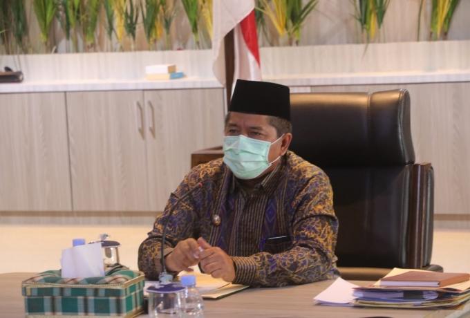Bupati Siak Bersama Gubernur Riau Dan Ombudsman RI Laksanakan Workshop Penilaian Kepatuhan