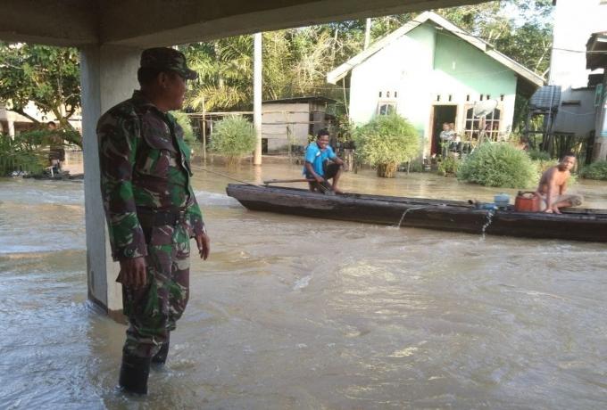 Serda Ahmad Basahil Pantau Luapan Air Sungai Nilo
