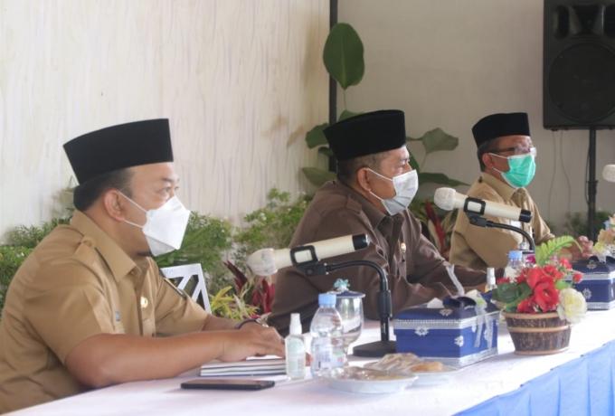 Gelar rapat Staff bersama Kepala OPD dan Camat, ini kata Bupati dan Wakil Bupati Siak