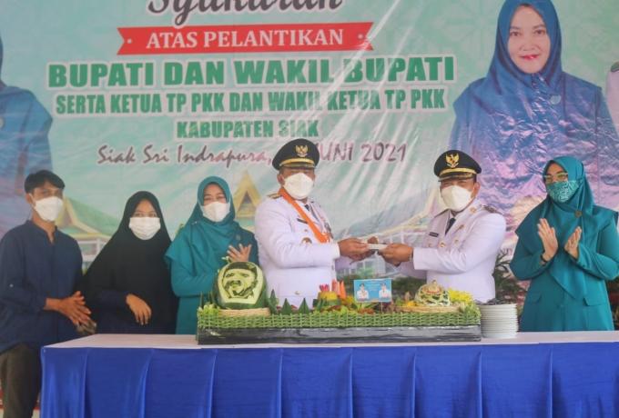 Syukuran Atas Pelantikan Bupati dan Wakil Bupati Siak Masa Bhakti 2021-2026