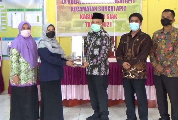 Diajang BBGRM Tingkat Provinsi Riau di Kelurahan Sungai Apit, Wabup Husni Gelorakan Semangat Melawan