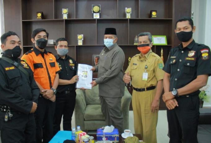 Bupati Siak Alfedri Sambut Kunjungan Ketua Senkom Mitra Polri