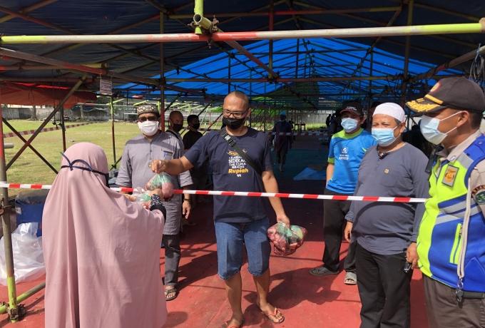 Berbagi Kebaikan di Idul Adha 1442 H, PT RAPP Distribusikan 10.332 Kantong Daging