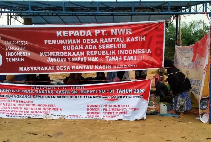 Sepuluh Butir Tuntutan KNPI Kampar Terkait Kasus Komplik Lahan Rantau Kasih dengan PT. NWR