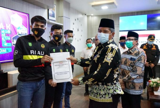 Perkuat Kontingen Riau,13 Atelit Kabupaten Siak, Siap Berjuang di PON Ke XX Papua