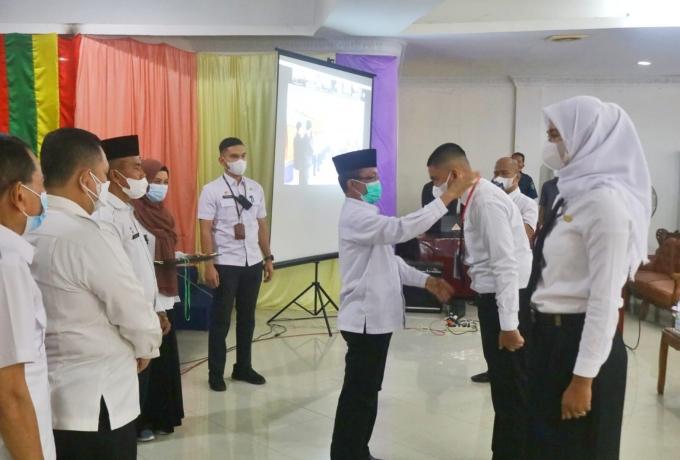 Buka Pelatihan Dasar CPNS, Jamaluddin, Semoga Terbentuk Karakter yang Berdaya Saing dan Berkompeten