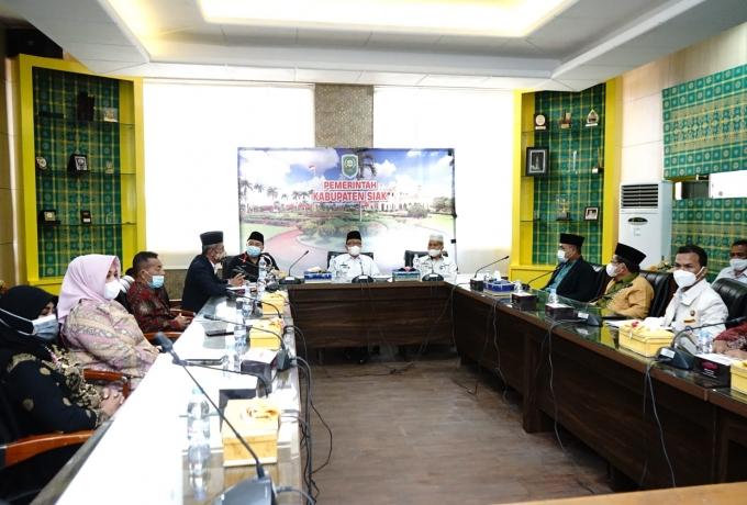 Terima Kunjungan FPK Provinsi Riau, ini kata Arfan