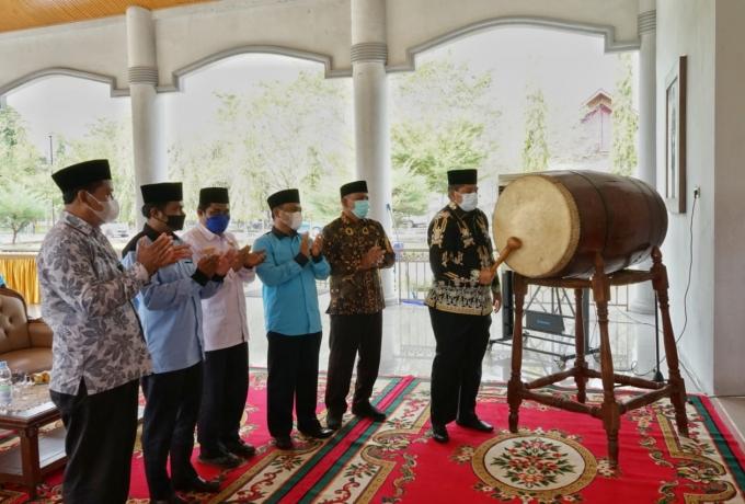 Bupati Alfedri Buka Kegiatan Festival Anak Sholeh Indonesia (FASI) Kabupaten Siak