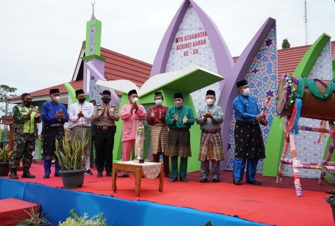 Bupati Alfedri Buka Kegiatan Musabaqah Tilawatil Quran Tingkat Kecamatan Kerinci Kanan Ke XII