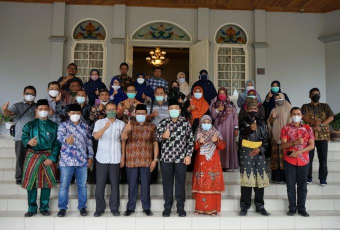 Wabup Husni Sambut Hangat Kunjungan Visitasi Akademik Fakultas Psikologi Ke Pemkab Siak