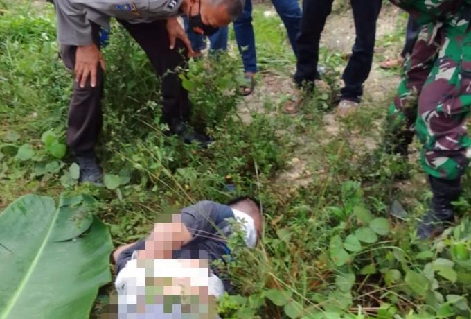 Kaki dan Tangan Terikat Diduga Dibunuh, Mayat Pria Tanpa Identitas Ditemukan Dipinggir Jalan Dibangk
