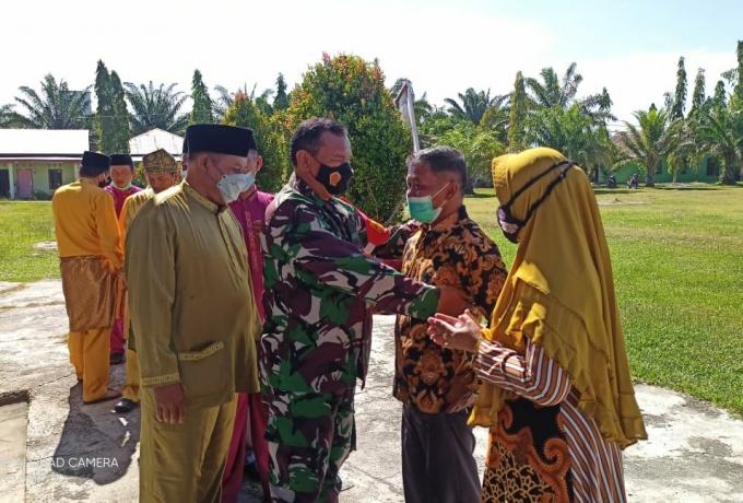 Danramil 10/Kunto Darussalam Hadiri HUT Kabupaten Rohul