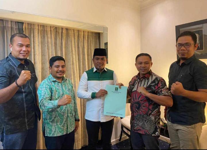 Resmi Di Dukung PKB, H. Zukri - Nasarudin Semakin Kuat Untuk Pilkada Pelalawan