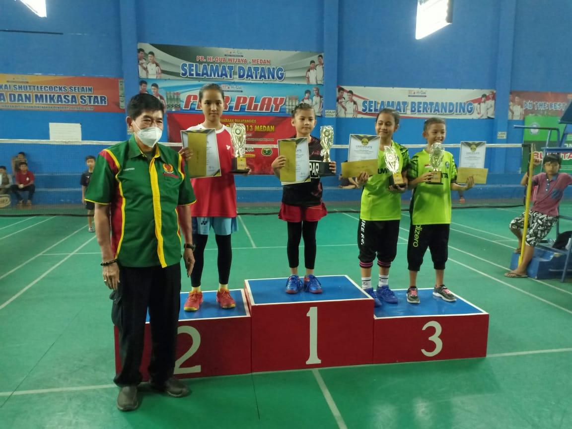 Juara 1 Hiqua Wijaya Open, Adelia Anjani Ini Kado Buat Ketua KONI Kampar Dan Jajaran Yang Baru Dilan