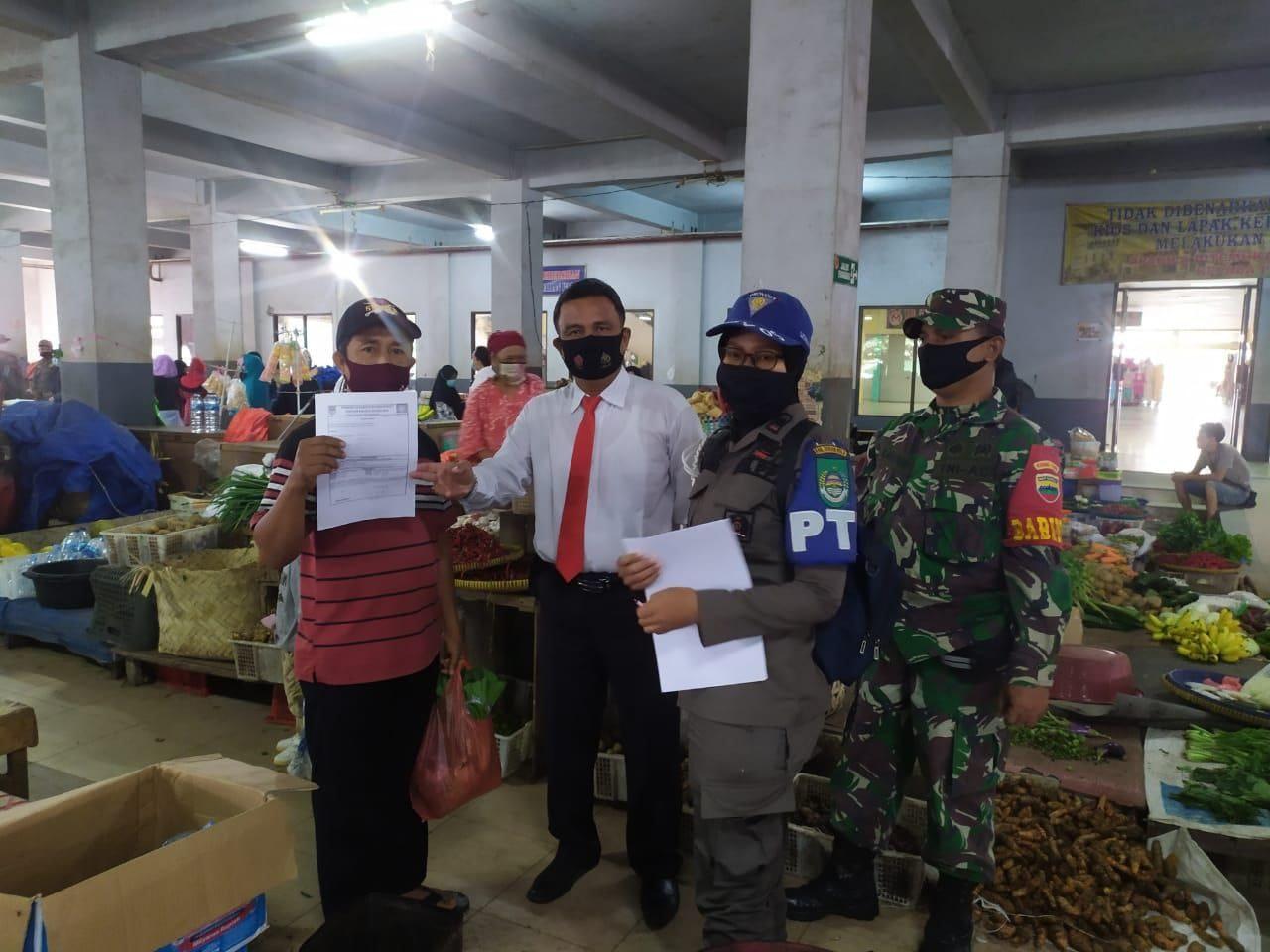 Tim Gabungan Himbau Warga Pakai Masker