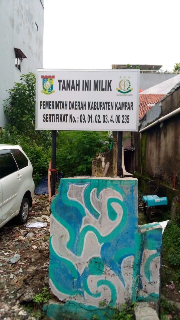 Kejari Selamatkan Aset Kampar di Jakarta Senilai Miliyaran Rupiah