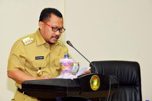 Bupati Kampar Buka Pelatihan Dasar CPNS Dilingkungan Pemerintah Daerah Kabupaten Kampar