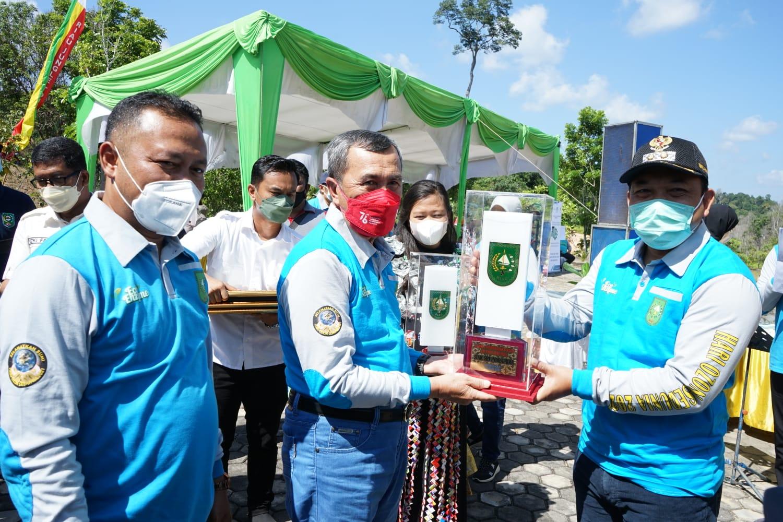 Siak Raih Juara Satu, Sebagai Ibu Kota Kabupaten Terbersih Tingkat Provinsi Riau 2021