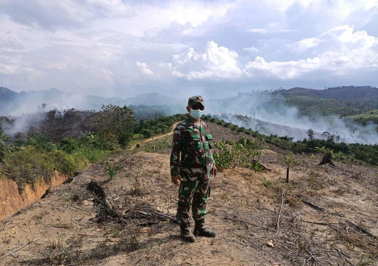 Babinsa Bersama MA, Bhabinkamtibmas dan MPA Laksanakan Patroli Terpadu