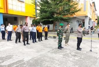 Satgas Pemburu Teking Covid-19 Kabupaten Kampar Lakukan Operasi yustisi di Kota Bangkinang