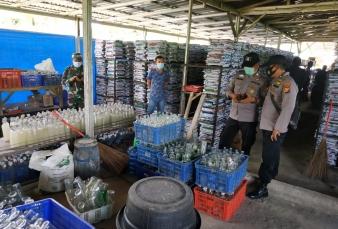 Tim Yustisi Didampingi Polsek Tapung Sidak Ke PT Tirta Mulya Decoco