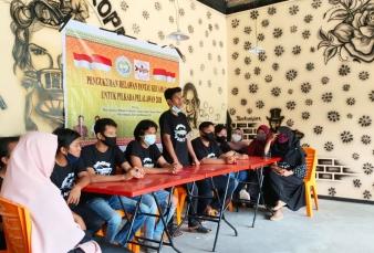 Relawan Pantau Kecamatan Kerumutan Dikukuhkan