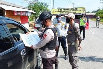 Polda Riau Dirikan 58 Pos Penyekatan Untuk Hadang Pemudik Lebaran 2021